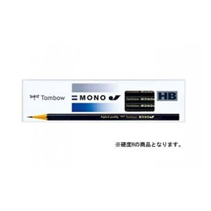 トンボ鉛筆 鉛筆 モノJ H 1 ダース MONO-JH 文房具 オフィス 用品