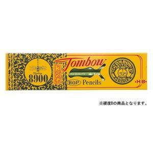 トンボ鉛筆 鉛筆 8900 B 1 ダース 8900-B 文房具 オフィス 用品
