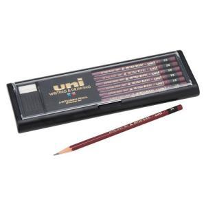 三菱鉛筆 鉛筆ユニ 2B 1 ダース U2B 文房具 オフィス 用品