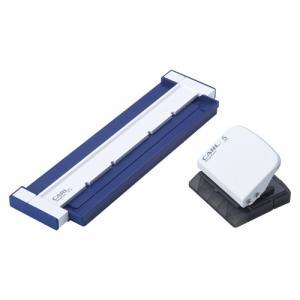 カール事務器 ゲージパンチ 20穴対応 ブルー 1台|recommendo