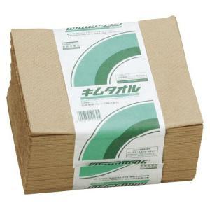日本製紙クレシア キムタオル 4つ折り50枚入 ブラウン 1 個 145569 文房具 オフィス 用品|recommendo