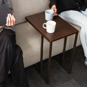 サイドテーブル 4530 テーブル 木製 北欧 ソファサイドテーブルの写真