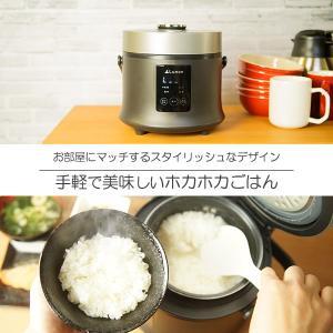 3.5合炊き炊飯ジャー TDP-001K 炊飯器 3合 一人暮らし 二人暮らし 米炊き 炊飯 ヨーグルト ケーキ 雑炊 おかゆ recommendo 02