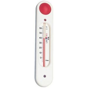 エンペックス 元気っ子(吸盤付浮型湯温計) TG-5101 ホワイト BOVL101