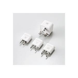 エレコム 海外用変換プラグセット T-HPSETWH JANコード:4953103286108  出...