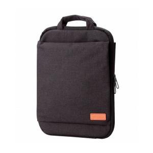 エレコム 縦持ち パソコン インナーケース インナーバッグ 薄型 取っ手付き ブラック 黒 off tocoシリーズ BM-IBOF13BK 代引不可|recommendo