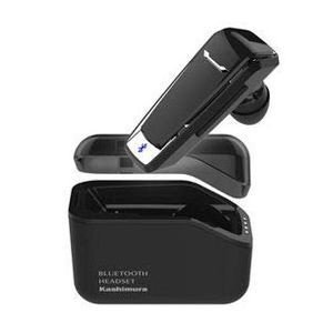 カシムラ 防水 Bluetooth イヤホンマイク 充電ケース付 BL86 JANコード:49079...