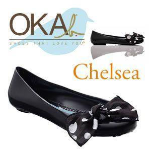 OKA b. オカビー Chelsea  チェルシー  BALLET FLAT バレエフラットシューズ|recommendo