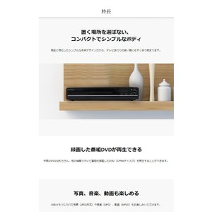 S-cubism DVDプレーヤー HDP-02 据置型 再生専用|recommendo|04