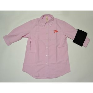 FLATLAX : Pretender 3/4sv Shirt カラー:light pink|recommendo