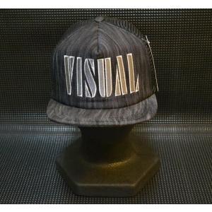 VISUAL キャップ ブラック|recommendo