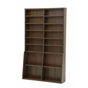 書棚120 BK-1220 ブラウン recommendo