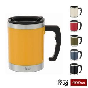 サーモマグ マグカップ Mug 400ml 保温 保冷 蓋付き thermo mug M16-40 マイカップ|recommendo