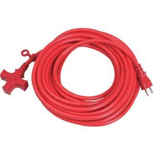 KOWA・ソフト延長コード15A−10・KM01-10レッド 電動工具:電工ドラム・コード:延長コード2