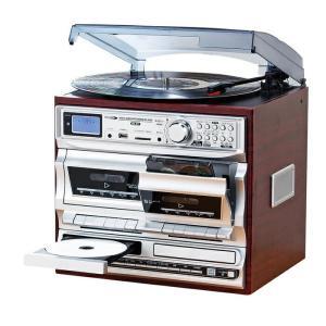 クマザキエイム マルチオーディオ・レコードプレーヤー ラジオ MA-811 代引不可