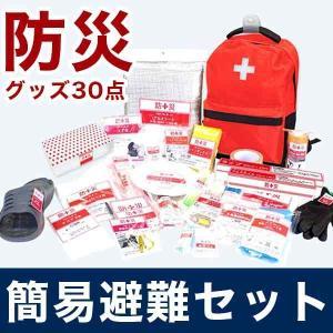 NEW 防災用品 30点セット 非常時 緊急 防災 防災バッグ 防災セット リュックサック 代引不可