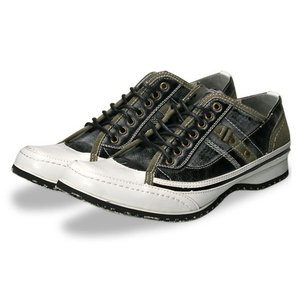 スニーカー メンズ 靴 レースアップ シューズ カジュアルシューズ ブラッチャーノ|recommendo