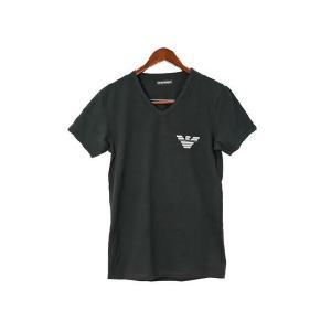 エンポリオアルマーニ emporio armani 下着 110886 cc540 00020 メンズ アンダーウェア vネック tシャツ ブラック|recommendo