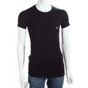 エンポリオアルマーニ emporio armani イーグルロゴ バックプリント 半袖 tシャツ 111275-cc725 メンズ tシャツ|recommendo