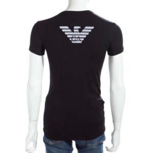 エンポリオアルマーニ emporio armani イーグルロゴ バックプリント 半袖 tシャツ 111275-cc725 メンズ tシャツ|recommendo|02