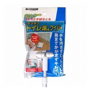 山崎産業 ラクラク トイレ床用ワイパー|recommendo