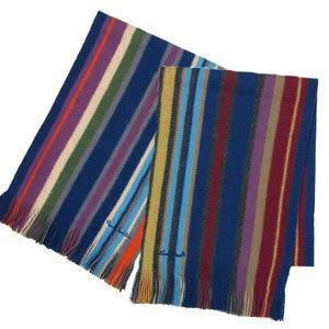 ポールスミス paul smith マフラー 181g reversible stripe scarf recommendo