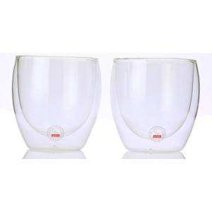 ボダム ダブルウォールグラス 0.25L 2個セット PAVINA 4558-10US recommendo