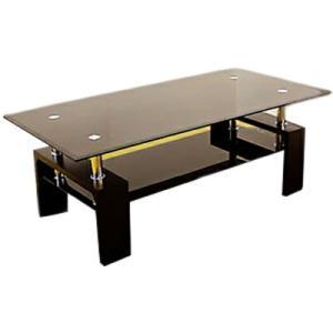 リビングテーブル ガラステーブル105 ピース|recommendo
