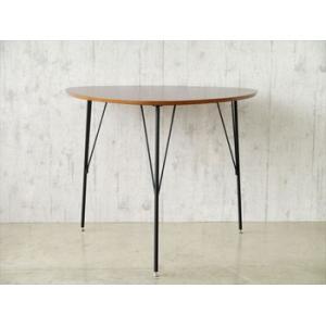 【DT-COLINA】 ダイニングテーブル 三本足 丸形 テーブル 食卓テーブル 丸テーブル 円卓 木製 新生活 北欧 ミッドセンチュリー recommendo