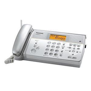 パナソニック デジタルコードレス感熱紙FAX 子機1台付き シルバー KX-PW211DL-S