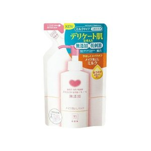 牛乳石鹸共進社 カウブランド 無添加メイク落としミルク 詰替用・130mL 代引不可
