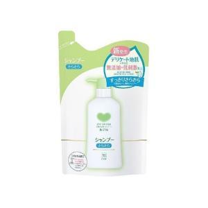 牛乳石鹸共進社 カウブランド 無添加シャンプーさらさら 詰替用 代引不可