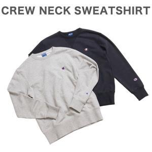 チャンピオン クルーネックスウェットシャツ CREW NECK SWEATSHIRT C3-LS050|recommendo