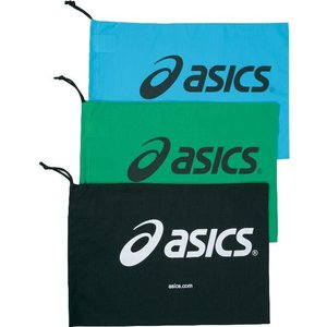 アシックス asics シューバッグ m tzs986 カラー:ブラック 90 シューズ袋 アクセサリー|recommendo