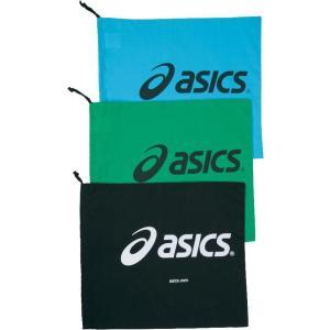 アシックス asics シューバッグ l tzs987 カラー:ブラック 90 シューズ袋 アクセサリー|recommendo