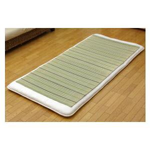 純国産 い草のシーツ(寝ござ) 『葉月』 グリーン シングル約88×180cm|recommendo