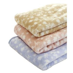 毛布 シングル マイヤー ポリエステルニューマイヤー毛布プティブルー シングルサイズ|recommendo