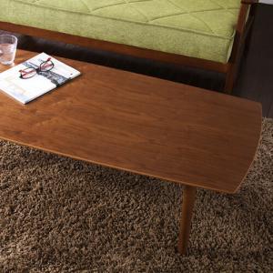 ウォルナット突き板折りたたみローテーブル Wal-Butler ウォル・バトラー 角丸 幅120cmタイプ|recommendo