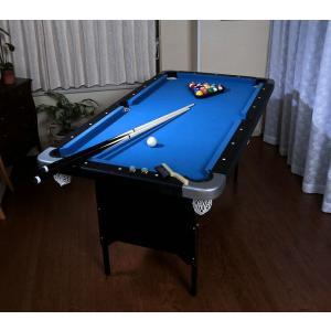 家庭用ビリヤード&卓球テーブル キューやボール、卓球セット付 ビリヤード台 卓球台 家庭用 セット お遊びセット 代引不可|recommendo