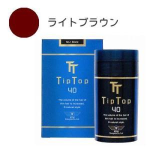 ティップトップ 40 40g ライトブラウン|recommendo