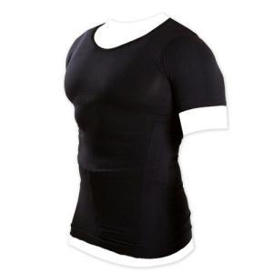 加圧インナーシャツ 加圧シャツ Uネック Vネック メンズ ブラック ホワイト マッスルプロジェクト 棚橋弘至 推薦|recommendo