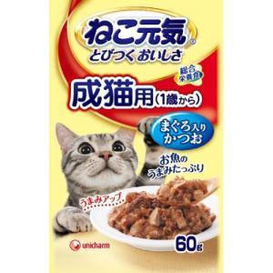 ねこ元気 とびつくおいしさ パウチ 成猫用(1歳...の商品画像