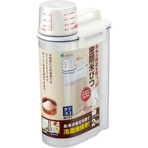 密閉米びつ パッキン付き 2KGの関連商品3