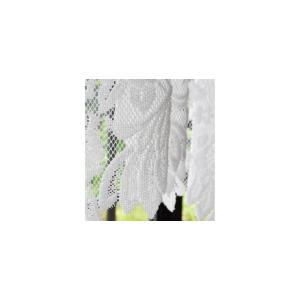 パイルレース 出窓用 スタイルカーテン 145cm×85cmフリル レースカーテン 国産 日本製 北欧 おしゃれ 代引不可|recommendo|02