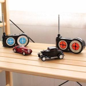 クラッシックカー おもちゃ 車 雑貨 RC 充電 レトロ 昭和 大人 プレゼント オシャレ 代引不可