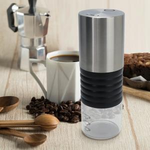 電動式コーヒーミル コーヒー豆 豆挽き グラインダー USB充電式 オフィス アウトドア キャンプ|リコメン堂