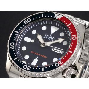 セイコー SEIKO ダイバー 腕時計 自動巻き メンズ SKX009K2