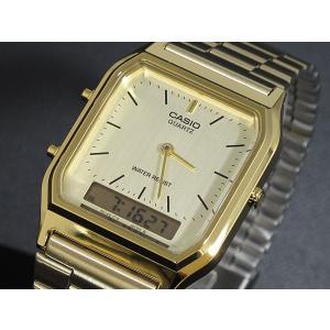 カシオ CASIO 腕時計 アナデジ AQ230GA-9D|recommendo