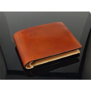 イル ブセット IL Bussetto 二つ折り 短財布(ウォレット) 11-007-BR|recommendo