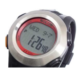 ソーラス SOLUS 心拍計測機能付き デジタル 腕時計 01-101-002|recommendo